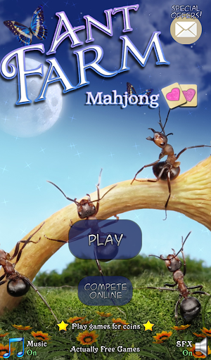 Hidden Mahjong: Ant Farm