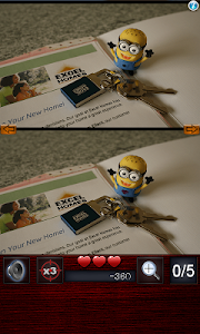 Find differences on minions v1.0.0