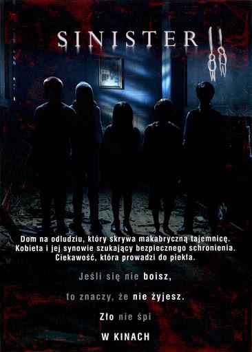 Tył ulotki filmu 'Sinister 2'