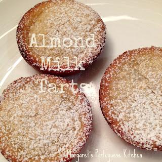 Almond Milk Tarts.
