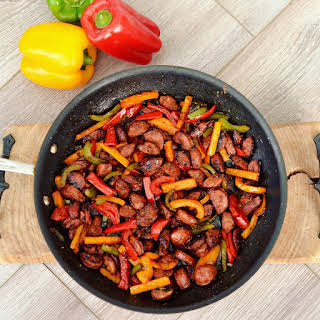 Balsamic Sausage & Peppers.