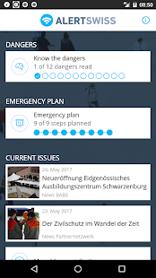 Alertswiss- screenshot thumbnail