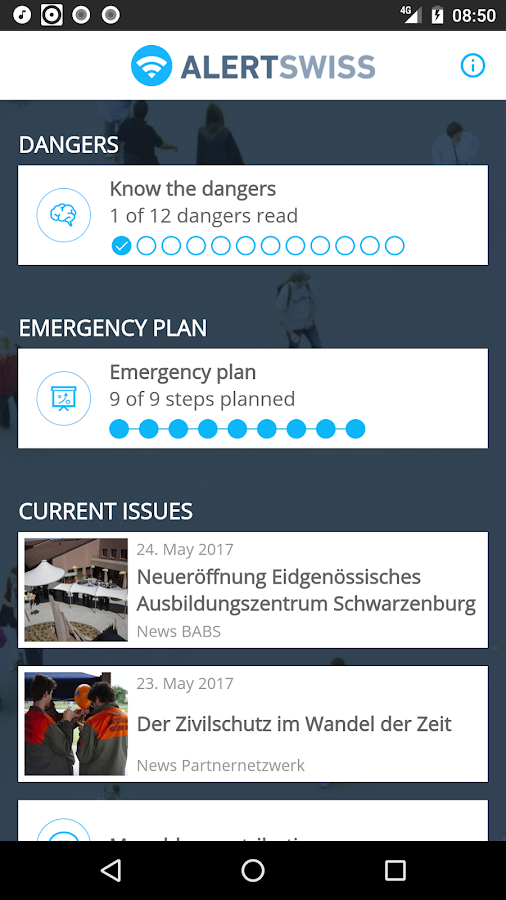 Alertswiss- screenshot