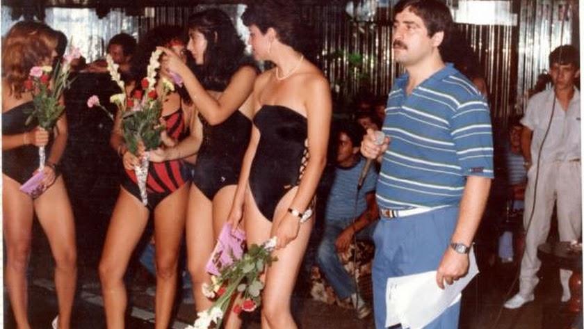 Galaxia en una noche de mises con el locutor almeriense Juan Domínguez