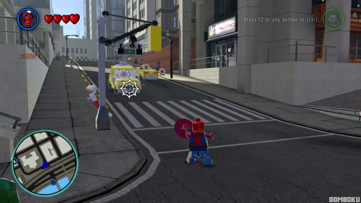 Asyplays Of Lego Capt Spider Jump - screenshot