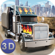 Game American Truck Driving 3D APK for Windows Phone