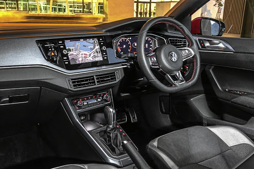 The interior has a sporty feel and there are nice options including the Active Info Display. Picture: QUICKPIC