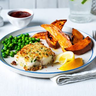Healthy Fish And Chips.