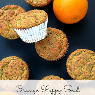 (Grain-Free) Orange Poppy Seed Flax Muffins
