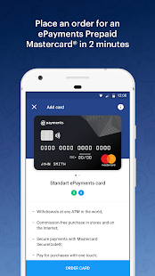 ePayments – electronic wallet- screenshot thumbnail