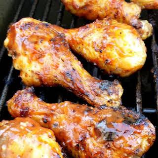 Barbecue Chicken Drumsticks.