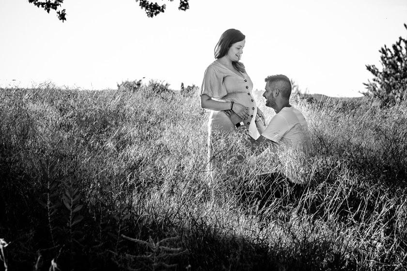 Reportaje de fotos de embarazada en Aranjuez