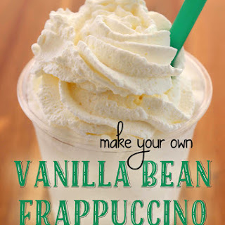 Vanilla Bean Frappuccino (Like Starbucks) Recipe