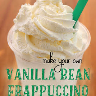 Vanilla Bean Frappuccino (like Starbucks).