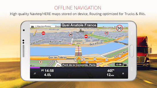 Sygic Truck GPS Navigation - Apps on Google Play