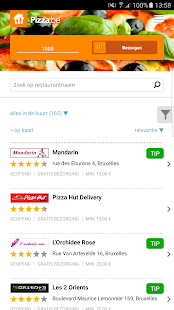 Pizza.be- screenshot thumbnail