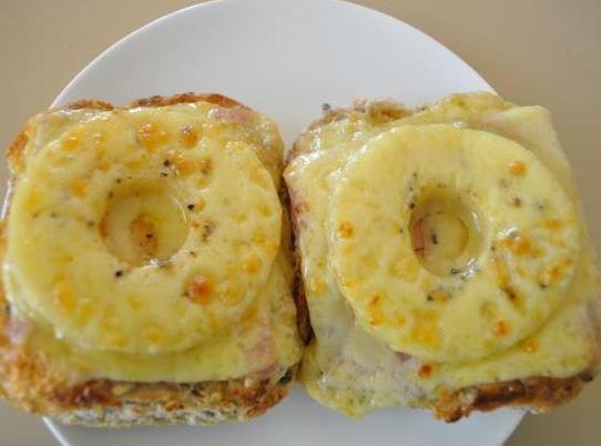 Pineapple Ham  And Cheese Sandwich Recipe