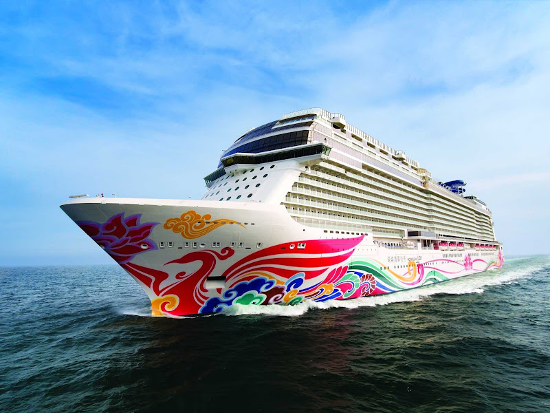 Norwegian Joy, which debuted in spring 2017, is the fleet's most innovative ship to date, styled exclusively for Chinese travelers.