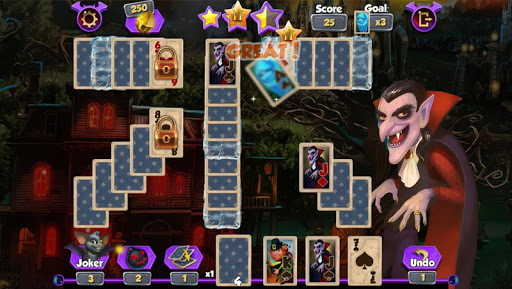 Bewitched Solitaire 1.0.4 screenshots 6