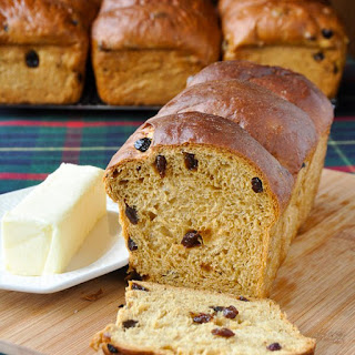 Newfoundland Molasses Raisin Bread.