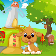 Dog Escape From Green House Best Escape Game-333