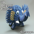 Origami 3D Tutorial icon