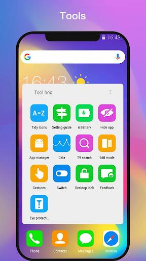 ii Launcher for Phone X & Phone 8  screenshots 5