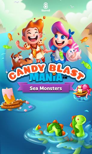 Candy Mania: Sea Monsters screenshot 12