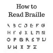 How to read braille