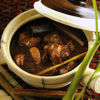 Soy and Spice Simmered Pork Shoulder.