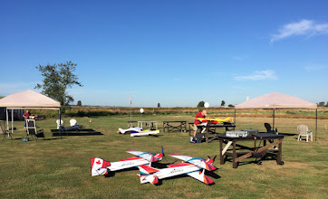 Photo: Saturday Morning and the pilots start to arrive.