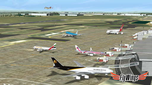 Flight Simulator 2015 Flywings - Paris and France apkpoly screenshots 13
