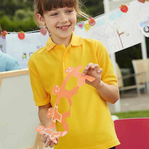 Fruit of the Loom Kids Cotton Polo Shirt