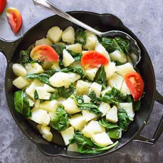 Swiss Chard and Potatoes – Croatian Blitva.