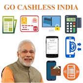 Go Cashless India - Bharat QR