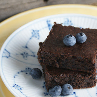 Blueberry Espresso Brownies.
