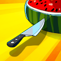 Food Cut  - knife throwing game icon