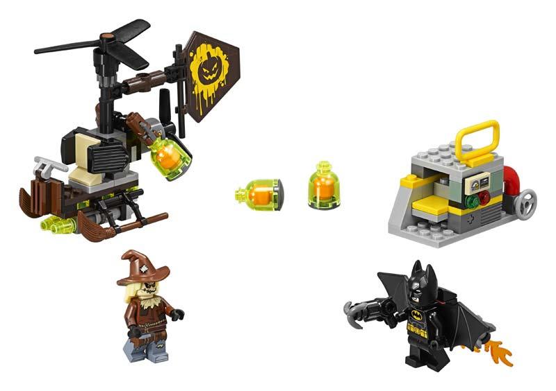 Contenido de Lego® 70913 Terrorífica Batalla contra el Espantapájaros