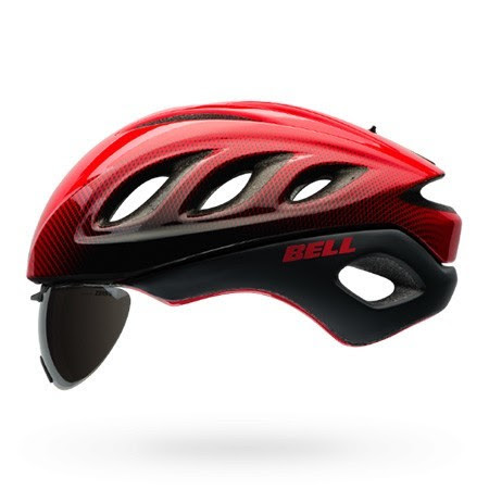 casco bell ciclismo lente integrada 2016