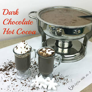 Dark Chocolate Hot Cocoa.