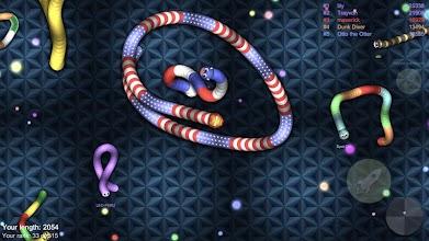 Big Snake.io: slither worm vs venom snake screenshot thumbnail