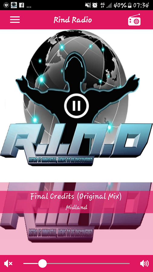 Rind Radio- screenshot