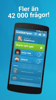Quizkampen screenshot 01