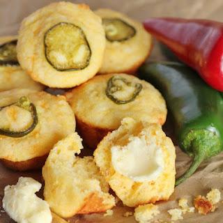 Mini Jalapeno cornmeal muffins