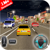 Highway Car Driving : Highway Car Racing Game 🏎