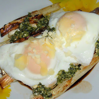 Eggs Over Asparagus