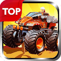 Monster: car smash endless (free download) icon