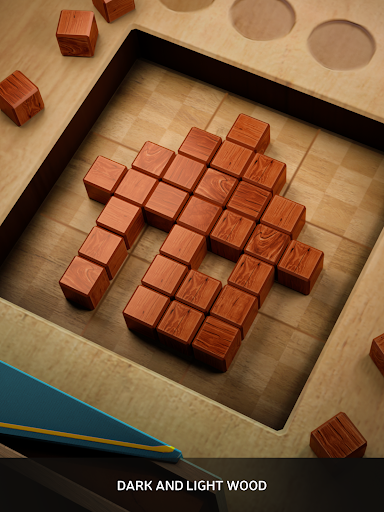 Wood SudoBlocks 3D - A Better Classic Wood Puzzle android2mod screenshots 11