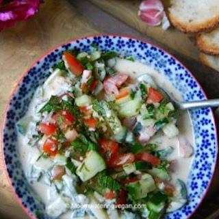 Middle Eastern Tahini Salad
