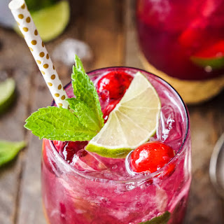 Cranberry Mojito Punch